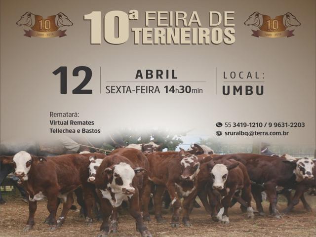 10ª  Feira de Terneiros
