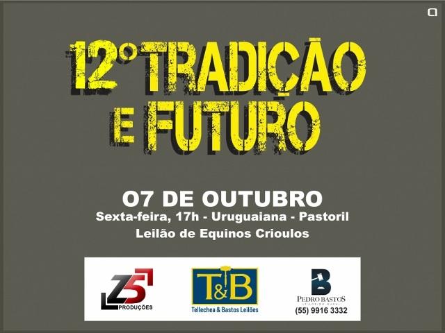 12º TRADIÇÃO E FUTURO
