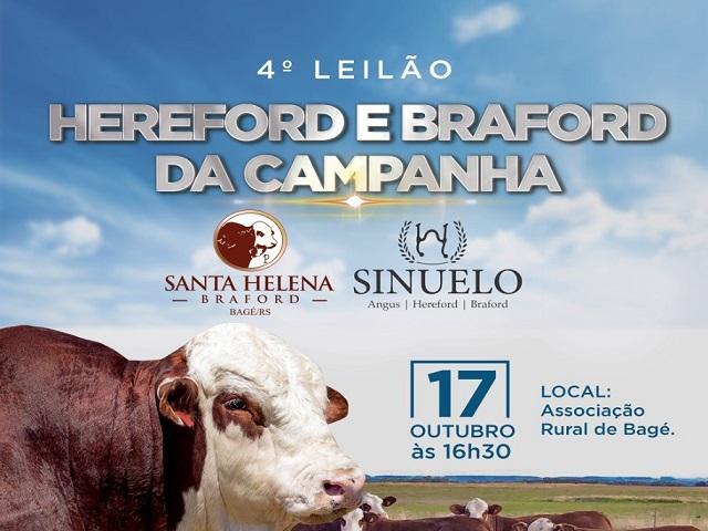 4º LEILÃO HEREFORD DA CAMPANHA