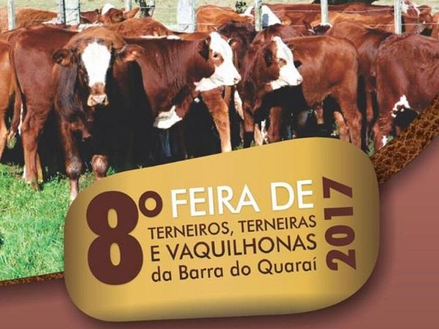 8ª Feira de Terneiros, Terneira e Vaquilhonas da Barra do Quaraí