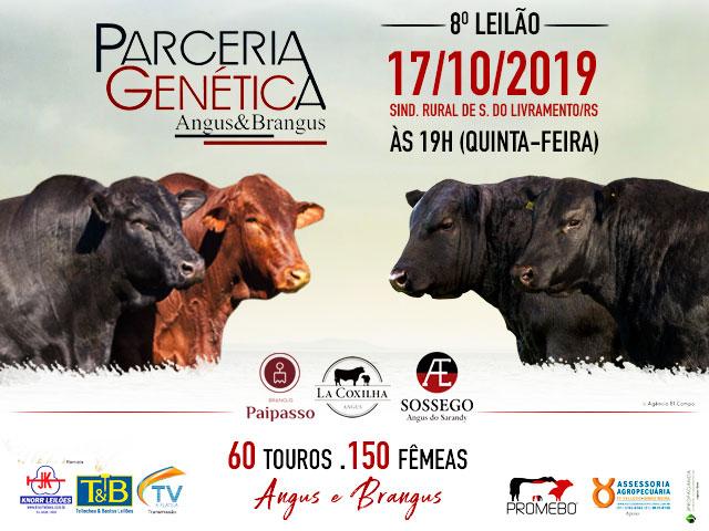 8º PARCERIA GENÉTICA - ANGUS & BRANGUS