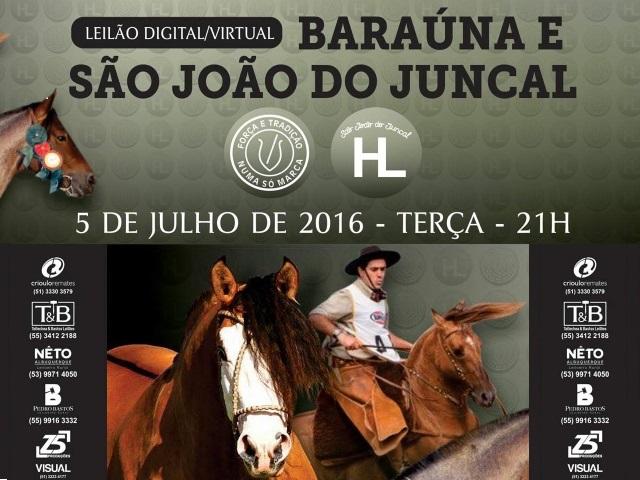 Leilão BARAÚNA DE SÃO JOÃO DO JUNCAL