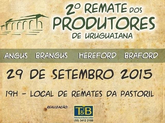 2° Remate dos Produtores de Uruguaiana