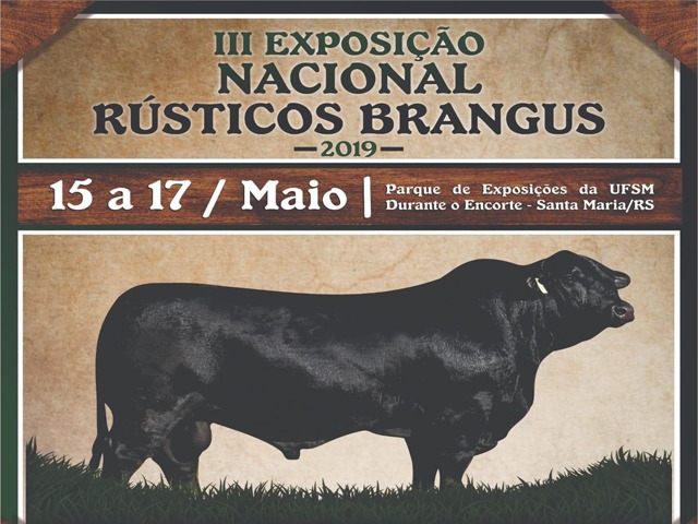 III Exposição Nacional de Rústicos Brangus